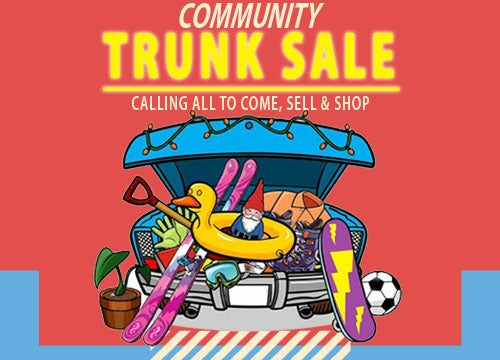 More Info for Community Trunk Sale